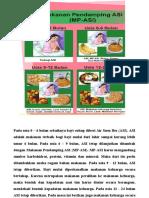 Poster Makanan Bayi