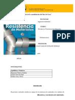 Trabajo de Mecanica y Resitencia de Materiales