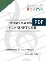 Programacion Clarinete