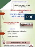 Exposicion Acacreditacion medicareditacion Medicina - Resumen