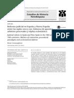 Reforma judicial en España y Nueva España.pdf