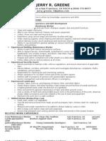 Jobswire.com Resume of jerry_greene_1