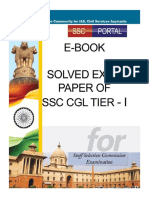 Ssc Cgl Free Guide SSC CGL Tier 1 Solved Papers