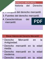 A) El Derecho Mercantil Clasle 16-07-2011