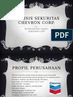 Analisis Sekuritas Chevron