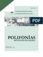 POLIFONIAS Ricardo Baquero