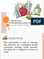 Module 1_Work Related Stress