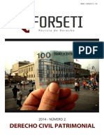 Derecho Civil Patrimonial - Revista
