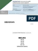 Hirayama Autoclave