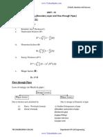 FM Unit 4 Formula