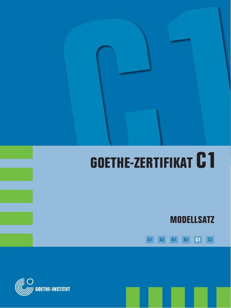 Goethe Zertifikat C1modellsatz05
