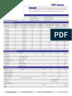 TPI,1W 3KVDC Isolation & Regulated Dual Output DC-DC Converters