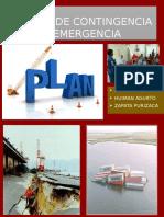 Exposicion de Planes de Contingencia y Emergencia