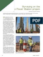 Surveying on the Medupi Power Station project