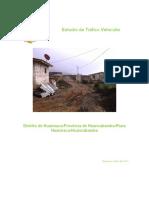 Informe de Estudio de Trafico Huarmaca