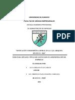 Motivación y Desempeño Laboral en La Caja Arequipa Huanuco 2016 - Copia(1)