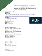 Tiếng Hàn Qua Bài Hát SNSD - Boomerang.