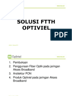 Presentasi Solusi Ftth Optiviel Cable