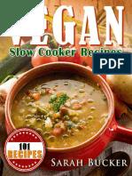 Vegan Slow Cooker Recipes by Sarah Bucker