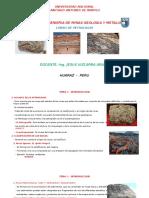 Diapositivas de Petrologia