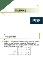 Chapter 3 Matrix