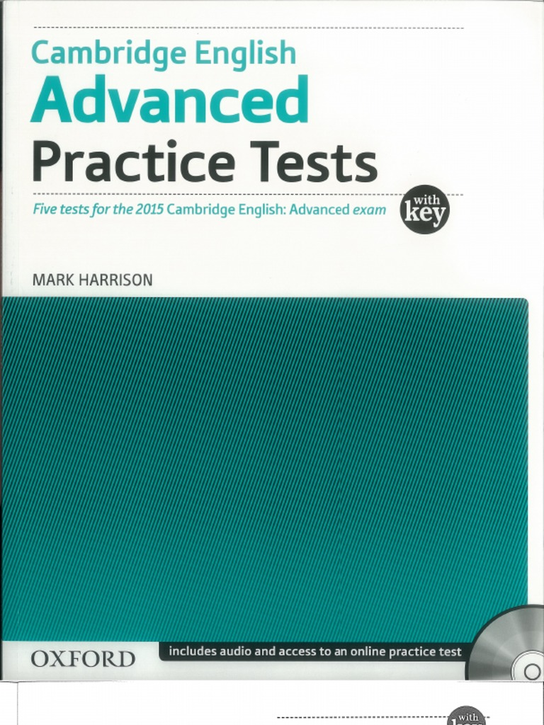 Advanced Practice Tests Harrison