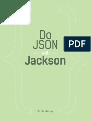Do+JSON+with+Jackson+by+Baeldung