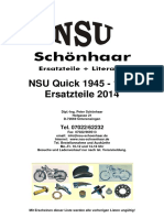 Katalog NSU Quick 1945-1953