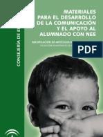 Materiales para el desarrollo de la comunicación y el apoyo al alumnado con necesidades educativas especiales