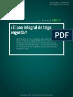 El Pan Integral de Trigo Engorda