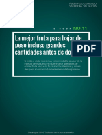 La fruta ideal para bajar de peso.