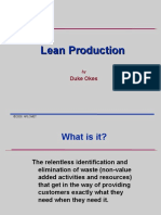 Lean Production Waste Identification