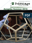 Tuxer Prattinge - Ausgabe Sommer 2016