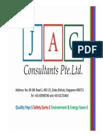 Intro-JAG Consultants Pte Ltd