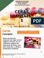 Ceras Dentales Seminario Def