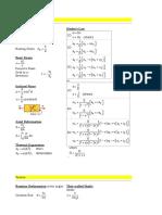 civil engineering formuls's