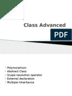 Class Advanced New