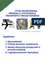 Logistyka Zaopatrzenia, Produkcji, Dystrybucji, Transportu i Magazynowania