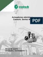 400 Series Manual Instrucciones Español