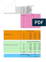 Factor Analysis in Excel