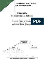 REQUISITOS PARA LA MEDICIÓN VALIDEZ Y CONFIABILIDAD 2015.pptx