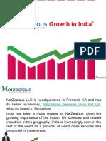 NetZealous Growth in India