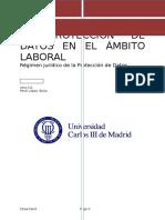 Protección de Datos Personales  en El Ambtio Laboral (Final)