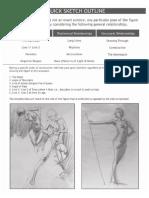 Drawing Human Figure - Reilly Method