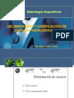 03 Delimitación y Codificación de Una Cuenca