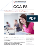 ACCA F8 Study Guide OpenTuition