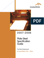 ArcelorMittal SPEC GUIDE 20070801