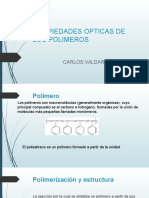 Propiedades Opticas de Los Polimeros