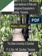 Wahira Othman-Tanzania Case Study-Pete and Maruhubi Zanzibar