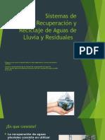 Sistemas de Recuperación y Reciclaje de Aguas Residuales